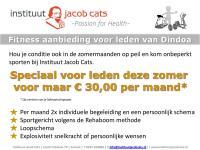Houd je conditie op peil bij Jacob Cats