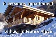 Appartement te huur in Franse Alpen